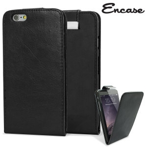 Picture of Encase Leather-Style iPhone 6 Wallet Flip Case - Black