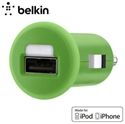 Picture of Belkin Single Micro USB 1A Car Charger - Green