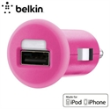 Picture of Belkin Single Micro USB 1A Car Charger - Pink
