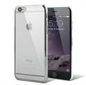 Picture of Glimmer Polycarbonate iPhone 6 Shell Case - Silver and Clear