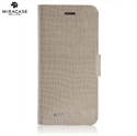 Picture of Miracase Croco iPhone 6 Leather-Style Stand Case - White