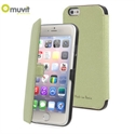 Picture of Muvit Made in Paris iPhone 6 Slim Folio Case - Lime