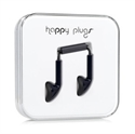 Picture of Happy Plugs EarBud Earphones with Hands-Free Microphone - Black