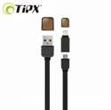 Picture of TipX Dual Lightning / Micro USB Sync & Charge Cable - Black
