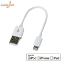 Picture of iBoltz XS 12cm Apple Lightning to USB Sync & Charge Extra Short Cable