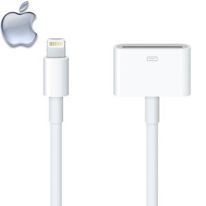 Picture of Genuine Apple Lightning to 30 Pin Converter Cable