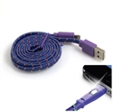 Picture of Happy Braided Light-up 1m Lightning Cable - Purple
