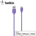 Picture of Belkin Sync Charge Lightning to USB Cable 4ft - Purple