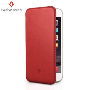 Picture of Twelve South SurfacePad iPhone 6 Plus Luxury Leather Case - Red
