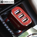 Picture of EXOGEAR ExoCharge 3 Port 5.1A Car Charger