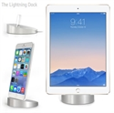 Picture of The Lightning Dock iPhone and iPad Sync & Charge Dock - Silver